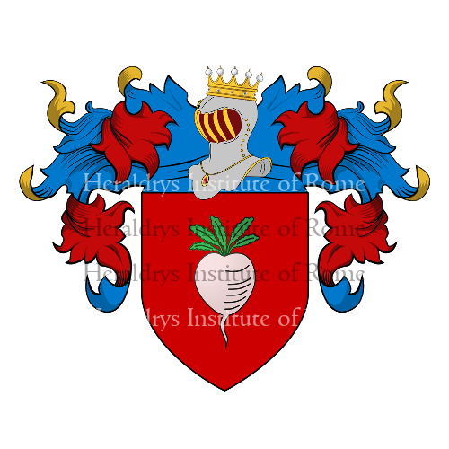 Coat of Arms of family Navona