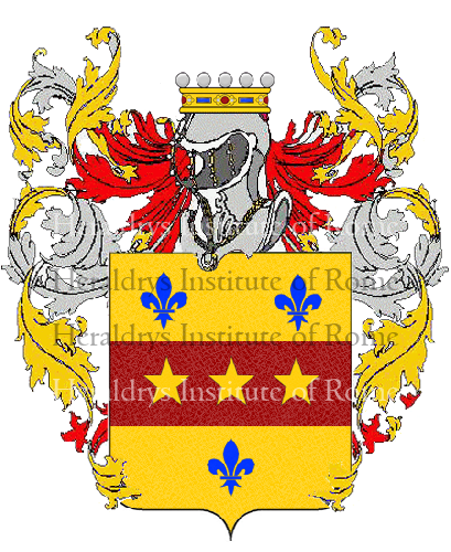 Coat of Arms of family Santisi