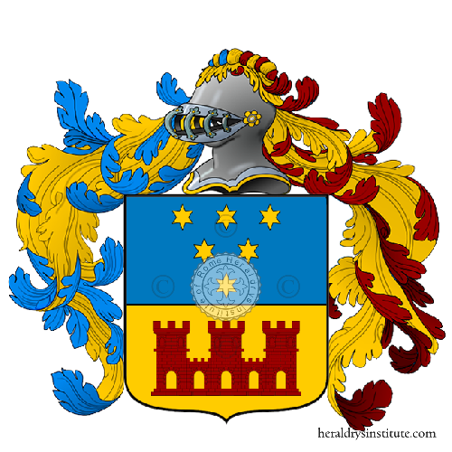 Coat of Arms of family Turatti