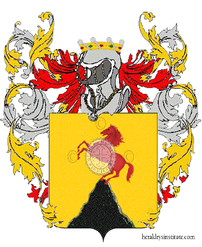 Coat of Arms of family Salsano