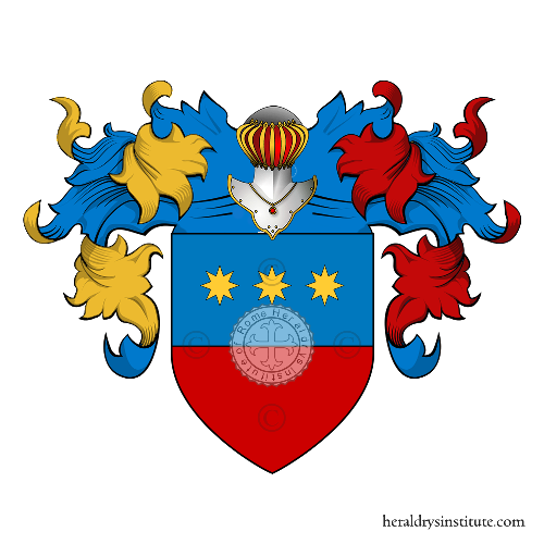 Coat of Arms of family Agostini