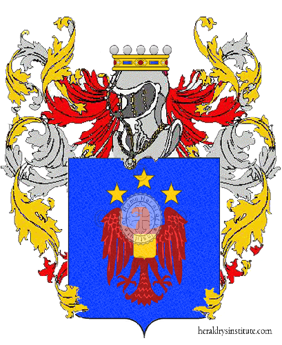 Coat of Arms of family Ussai