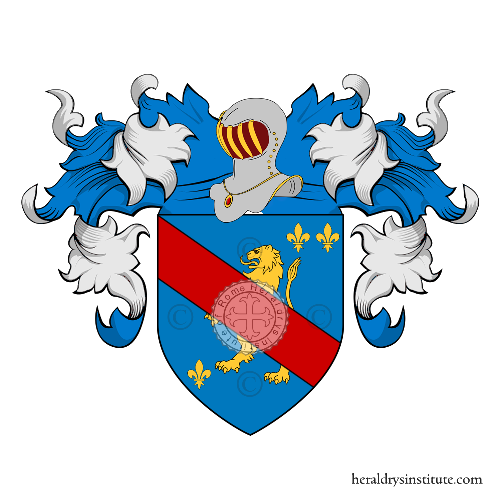 Coat of Arms of family Taraschi  Beguti