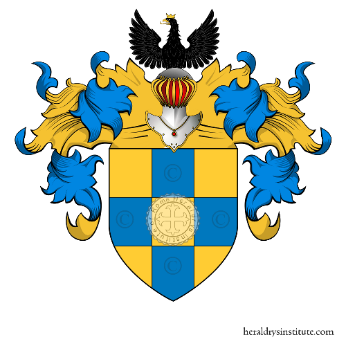 Coat of Arms of family Gentile (Genova, Firenze)