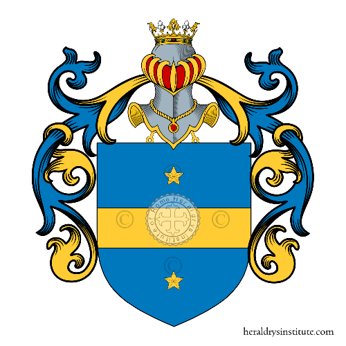 Coat of arms of family d'Angelo