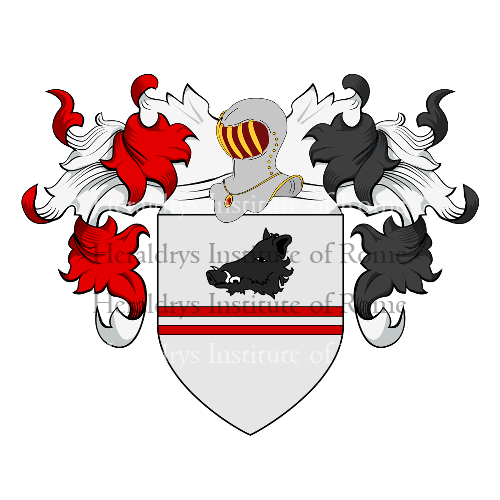 Coat of Arms of family Palmieridamiano