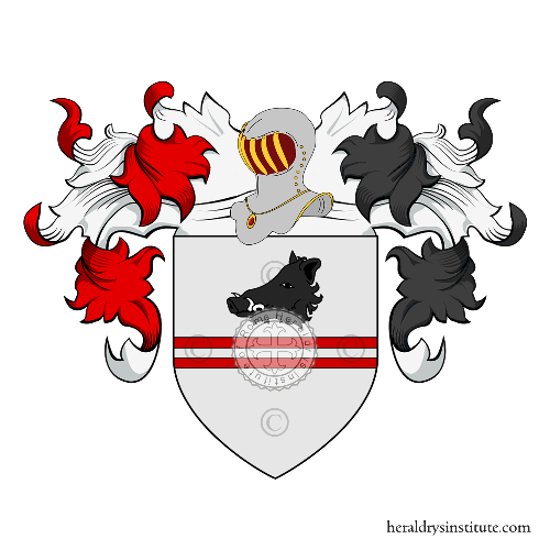 Coat of Arms of family Zalmieri