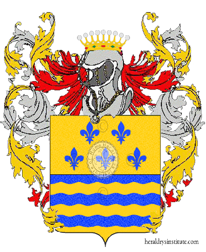 Coat of arms of family De Cesaris