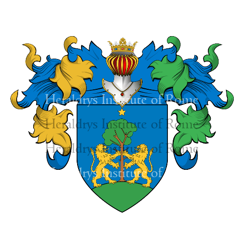 Coat of Arms of family Riciliano