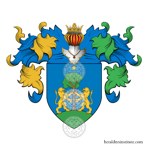 Coat of Arms of family Siciliano