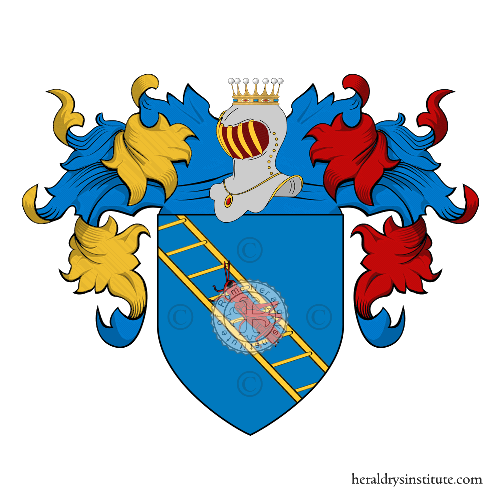 Coat of Arms of family Grillo Flaviano
