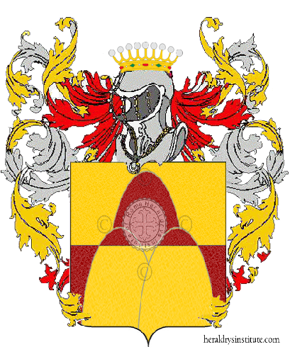 Coat of Arms of family Vozzo
