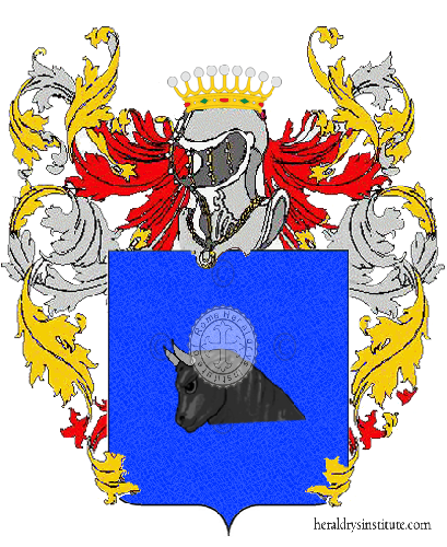 Coat of Arms of family Lenzo
