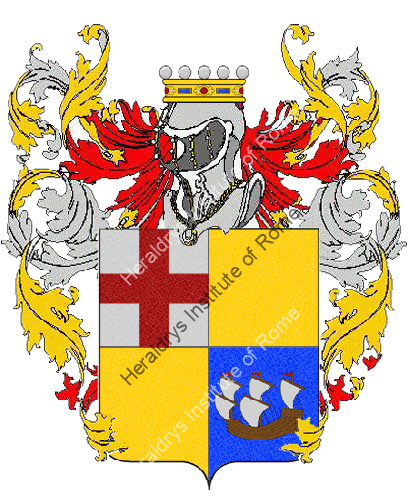 Coat of Arms of family Bollina