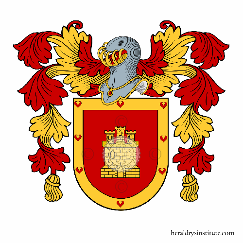 Coat of arms of family Cerulla