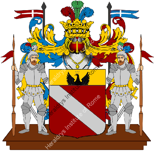 Coat of Arms of family Ravanna