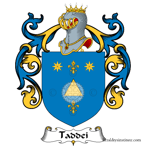 Coat of Arms of family Taddeu
