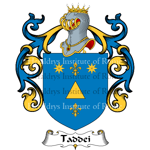 Coat of Arms of family Zaddei