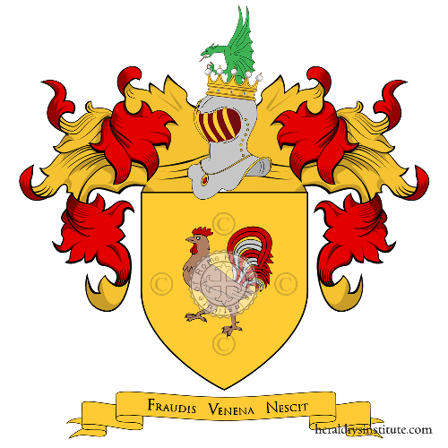 Coat of Arms of family Sangallo