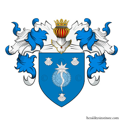 Coat of Arms of family Greco (Sicilia)
