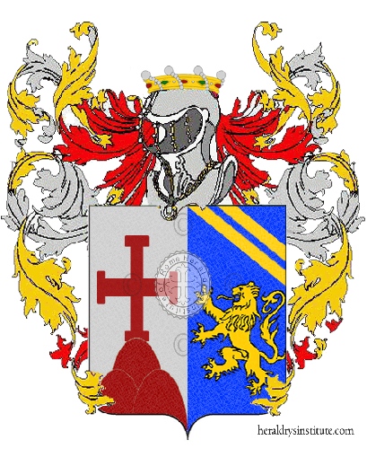 Coat of Arms of family Roccacasale