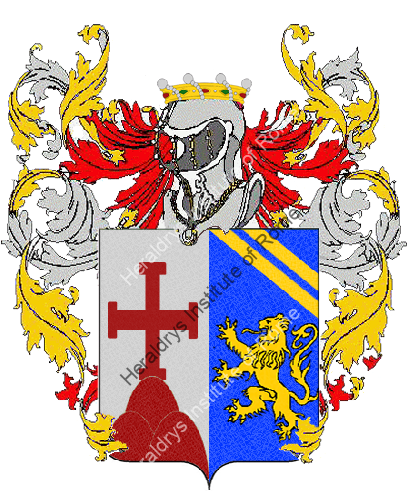 Coat of Arms of family Roccamonte
