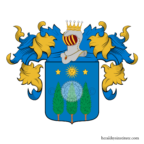 Coat of Arms of family Tambelli