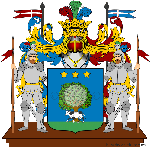 Coat of Arms of family Zonini