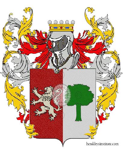 Coat of Arms of family Genesoni