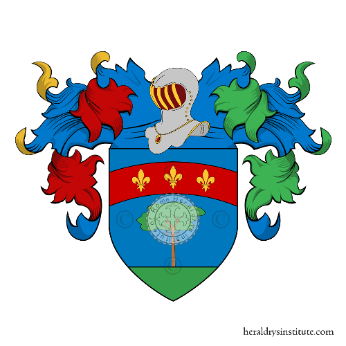 Coat of Arms of family Franchini (S.Miniato)