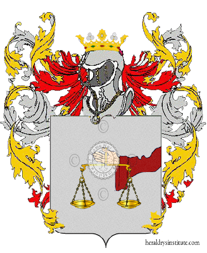 Coat of Arms of family Rane