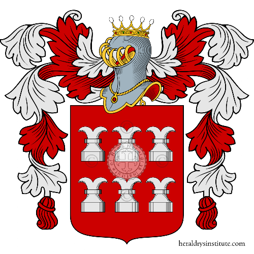 Coat of Arms of family Rocchio