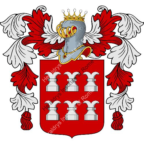 Coat of Arms of family Rocchitelli