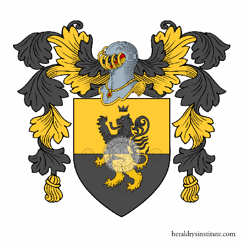 Coat of arms of family Aceto