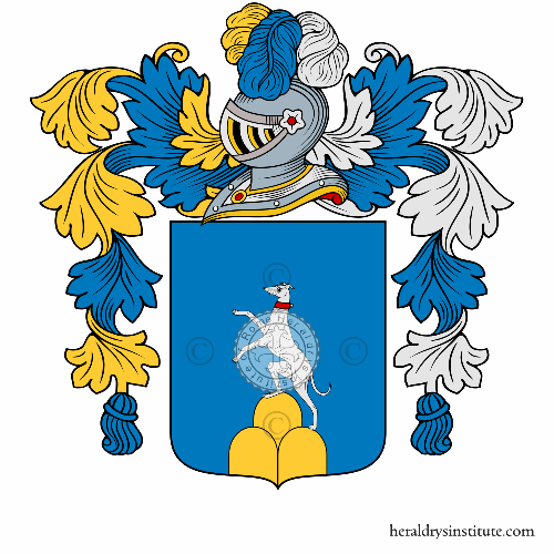 Coat of arms of family Cillo