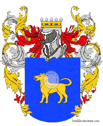 Coat of Arms of family Saragò