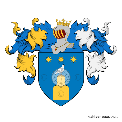 Coat of Arms of family Saltarella