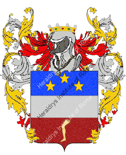 Coat of Arms of family Samba