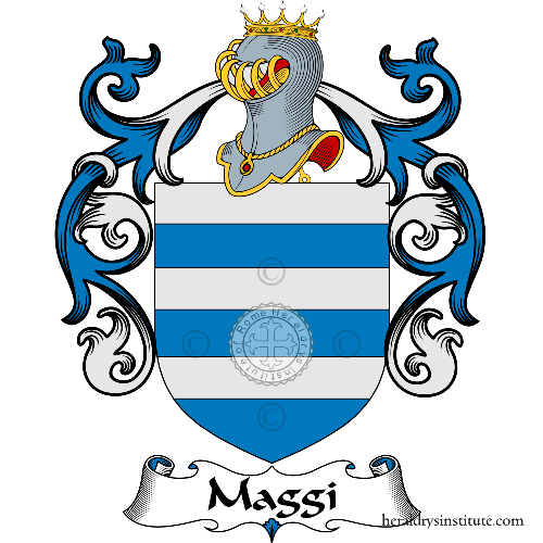 Coat of Arms of family maggi