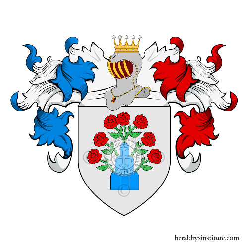 Coat of arms of family Tamagnini