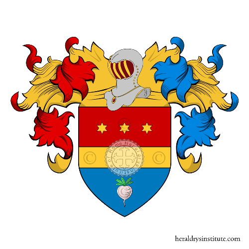 Coat of Arms of family Zapolla