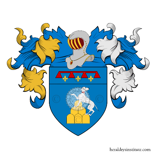 Coat of Arms of family Dicecchi