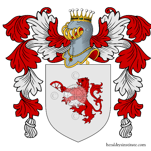 Coat of arms of family Leopoldo