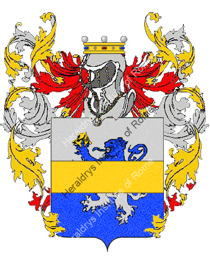 Coat of Arms of family Rasala