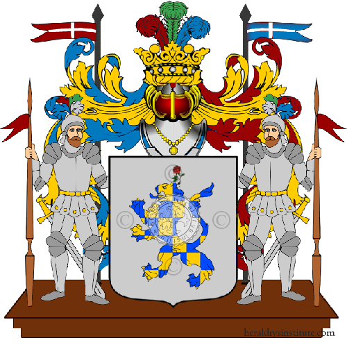 Coat of Arms of family Spanico