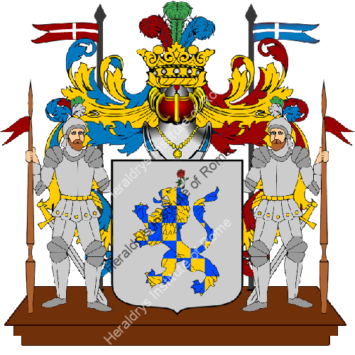 Coat of arms of family Di Panico