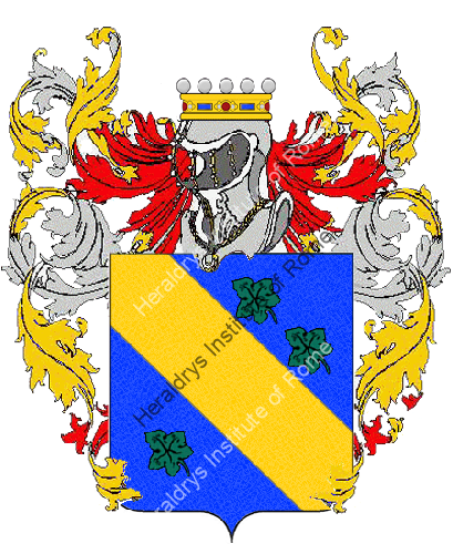 Coat of arms of family Eluci
