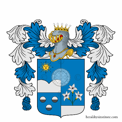 Coat of arms of family Maccarrone
