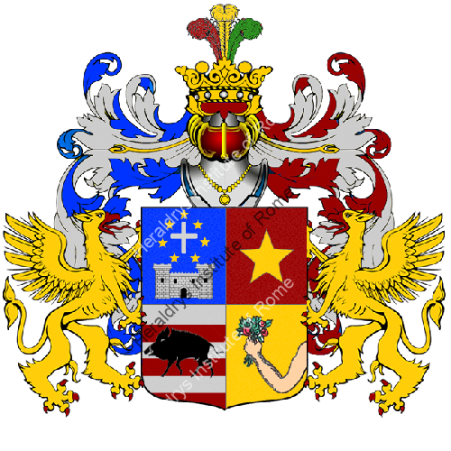 Coat of Arms of family Casu