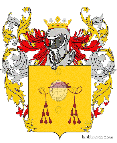 Coat of arms of family Cappelli